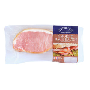 British Smoked Back Bacon (200g)