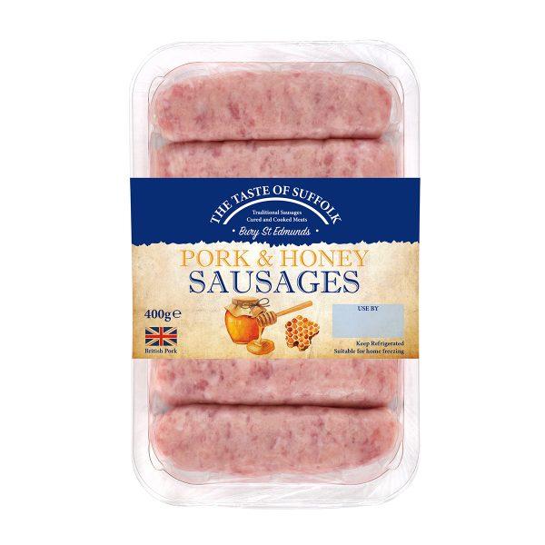 Pork & Honey Sausages (400g)