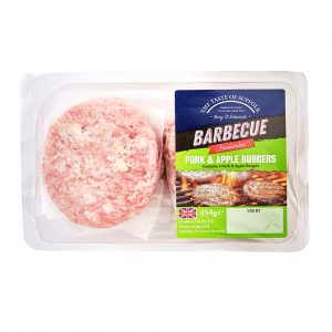 Pork and Apple Burgers (400g)
